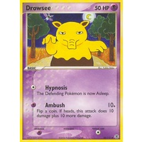 Drowzee 32/112 EX Fire Red & Leaf Green Uncommon Pokemon Card NEAR MINT TCG