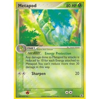 Metapod 39/112 EX Fire Red & Leaf Green Uncommon Pokemon Card NEAR MINT TCG
