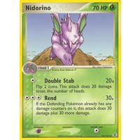 Nidorino 41/112 EX Fire Red & Leaf Green Uncommon Pokemon Card NEAR MINT TCG
