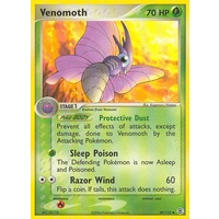 Venomoth 49/112 EX Fire Red & Leaf Green Uncommon Pokemon Card NEAR MINT TCG