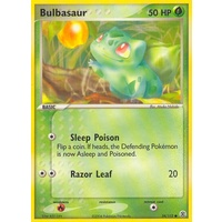 Bulbasaur 54/112 EX Fire Red & Leaf Green Common Pokemon Card NEAR MINT TCG