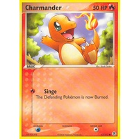 Charmander 57/112 EX Fire Red & Leaf Green Common Pokemon Card NEAR MINT TCG