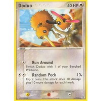 Doduo 62/112 EX Fire Red & Leaf Green Common Pokemon Card NEAR MINT TCG