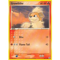 Growlithe 64/112 EX Fire Red & Leaf Green Common Pokemon Card NEAR MINT TCG