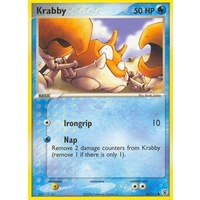 Krabby 66/112 EX Fire Red & Leaf Green Common Pokemon Card NEAR MINT TCG