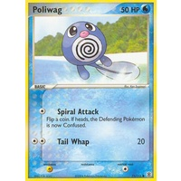 Poliwag 75/112 EX Fire Red & Leaf Green Common Pokemon Card NEAR MINT TCG
