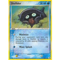 Shellder 79/112 EX Fire Red & Leaf Green Common Pokemon Card NEAR MINT TCG