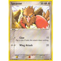 Spearow 81/112 EX Fire Red & Leaf Green Common Pokemon Card NEAR MINT TCG