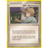 Bill's Maintenance 87/112 EX Fire Red & Leaf Green Uncommon Trainer Pokemon Card NEAR MINT TCG