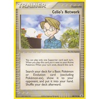 Celio's Network 88/112 EX Fire Red & Leaf Green Uncommon Trainer Pokemon Card NEAR MINT TCG