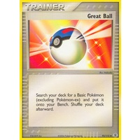 Great Ball 92/112 EX Fire Red & Leaf Green Uncommon Trainer Pokemon Card NEAR MINT TCG