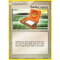 PokeDex Handy 909 96/112 EX Fire Red & Leaf Green Uncommon Trainer Pokemon Card NEAR MINT TCG