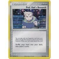 Prof. Oak's Research 98/112 EX Fire Red & Leaf Green Reverse Holo Uncommon Trainer Pokemon Card NEAR MINT TCG