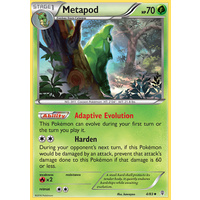 Metapod 4/83 XY Generations Uncommon Pokemon Card NEAR MINT TCG