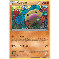 Diglett 38/83 XY Generations Common Pokemon Card NEAR MINT TCG