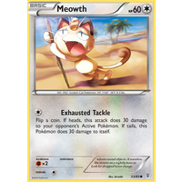 Meowth 53/83 XY Generations Common Pokemon Card NEAR MINT TCG