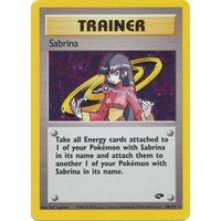 Sabrina 20/132 Gym Challenge Unlimited Holo Rare Trainer Pokemon Card NEAR MINT TCG