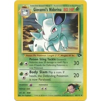 Giovanni's Nidorina 44/132 Gym Challenge Unlimited Uncommon Pokemon Card NEAR MINT TCG