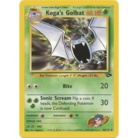 Koga's Golbat 46/132 Gym Challenge Unlimited Uncommon Pokemon Card NEAR MINT TCG
