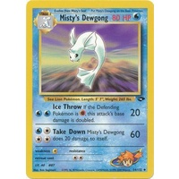 Misty's Dewgong 54/132 Gym Challenge Unlimited Uncommon Pokemon Card NEAR MINT TCG
