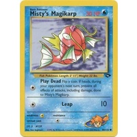 Misty's Magikarp 88/132 Gym Challenge Unlimited Common Pokemon Card NEAR MINT TCG