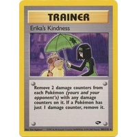 Erika's Kindness 103/132 Gym Challenge Unlimited Rare Trainer Pokemon Card NEAR MINT TCG