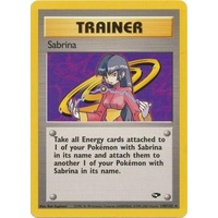 Sabrina 110/132 Gym Challenge Unlimited Rare Trainer Pokemon Card NEAR MINT TCG