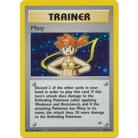Misty 18/132 Gym Heroes Unlimited Holo Rare Pokemon Card NEAR MINT TCG