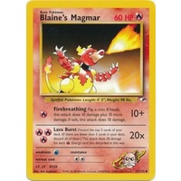 Blaine's Magmar 37/132 Gym Heroes Unlimited Uncommon Pokemon Card NEAR MINT TCG