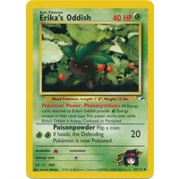 Erika's Oddish 47/132 Gym Heroes Unlimited Uncommon Pokemon Card NEAR MINT TCG