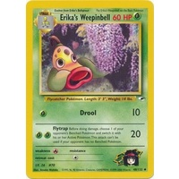 Erika's Weepinbell 48/132 Gym Heroes Unlimited Uncommon Pokemon Card NEAR MINT TCG