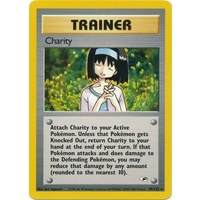 Charity 99/132 Gym Heroes Unlimited Rare Trainer Pokemon Card NEAR MINT TCG