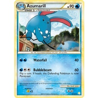 Azumarill 2/123 HS Base Set Holo Rare Pokemon Card NEAR MINT TCG