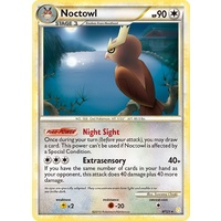 Noctowl 8/123 HS Base Set Holo Rare Pokemon Card NEAR MINT TCG