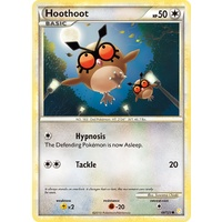 Hoothoot 66/123 HS Base Set Common Pokemon Card NEAR MINT TCG
