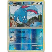 Azumarill 2/123 HS Base Set Reverse Holo Rare Pokemon Card NEAR MINT TCG
