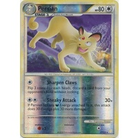 Persian 27/123 HS Base Set Reverse Holo Rare Pokemon Card NEAR MINT TCG