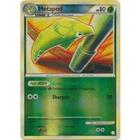 Metapod 46/123 HS Base Set Reverse Holo UnReverse Holo Common Pokemon Card NEAR MINT TCG