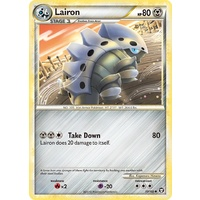 Lairon 37/102 HS Triumphant Uncommon Pokemon Card NEAR MINT TCG
