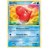 Luvdisc 39/102 HS Triumphant Uncommon Pokemon Card NEAR MINT TCG