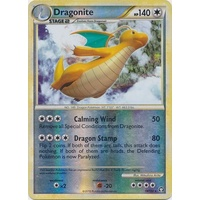Dragonite 18/102 HS Triumphant Reverse Holo Rare Pokemon Card NEAR MINT TCG