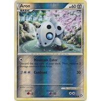 Aron 56/102 HS Triumphant Reverse Holo Common Pokemon Card NEAR MINT TCG