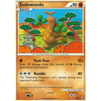 Sudowoodo 9/95 HS Unleashed Holo Rare Pokemon Card NEAR MINT TCG