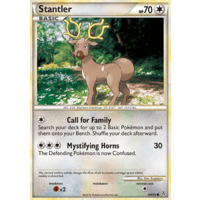 Stantler 64/95 HS Unleashed Common Pokemon Card NEAR MINT TCG