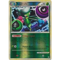Roserade 23/95 HS Unleashed Reverse Holo Rare Pokemon Card NEAR MINT TCG