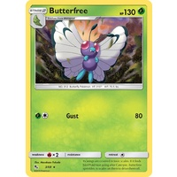 Butterfree 3/68 SM Hidden Fates Rare Pokemon Card NEAR MINT TCG