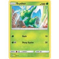 Scyther 5/68 SM Hidden Fates Uncommon Pokemon Card NEAR MINT TCG