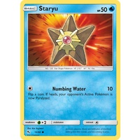 Staryu 13/68 SM Hidden Fates Common Pokemon Card NEAR MINT TCG