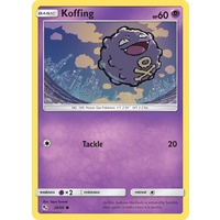 Koffing 28/68 SM Hidden Fates Common Pokemon Card NEAR MINT TCG