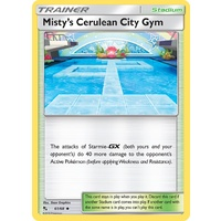 Misty's Cerulean City Gym 61/68 SM Hidden Fates Uncommon Trainer Pokemon Card NEAR MINT TCG